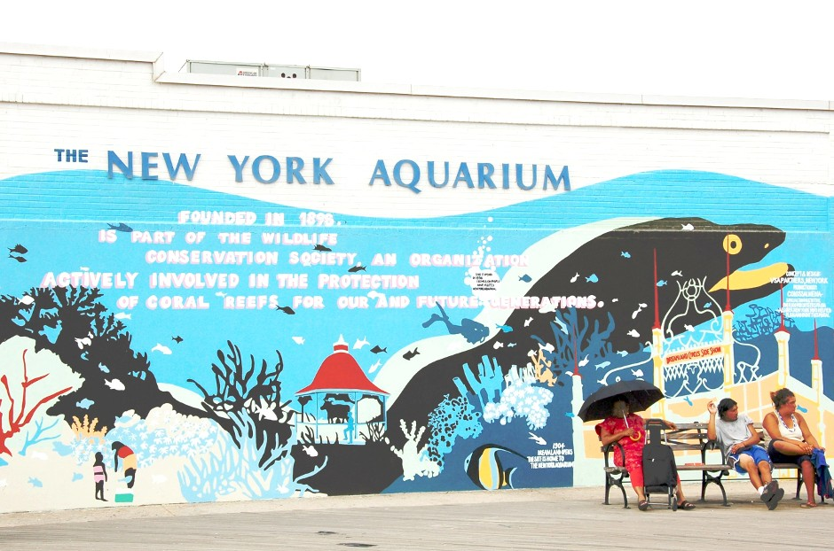 Brooklyn, Coney Island, Aquarium